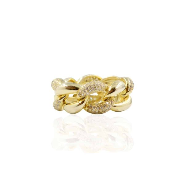 Anel charm gold