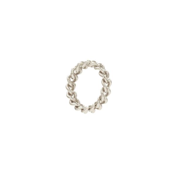 Anel leopard silver