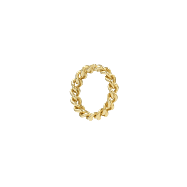 Anel leopard gold