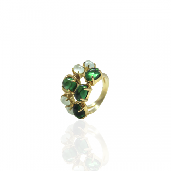 Anel Spring Green,