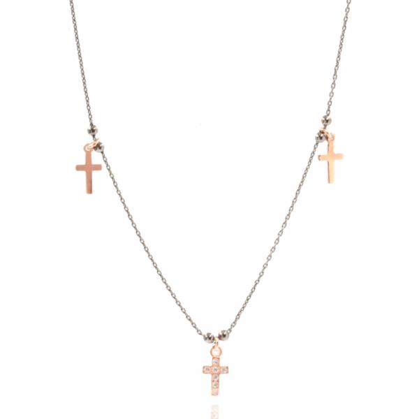 Colar de cruz