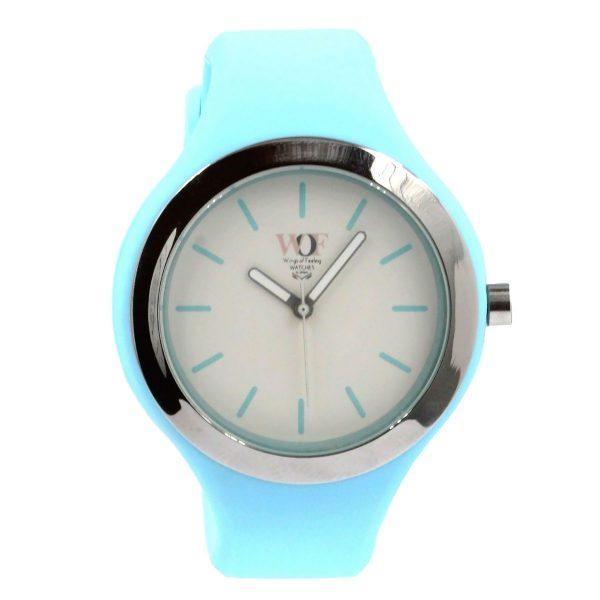 Relógio azul claro WOF