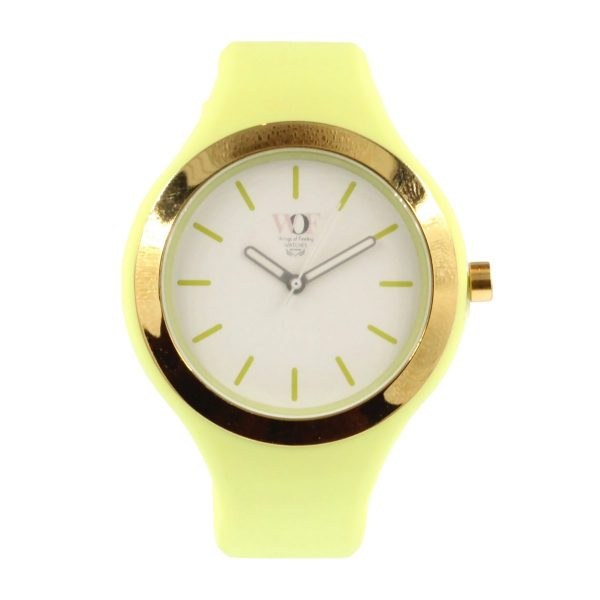 Relógio Verde florescente WOF